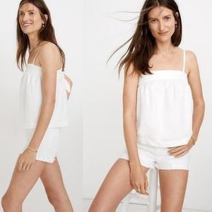 Madewell | NWT Denim Convertible Tie Back Top